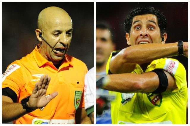 FGF define os árbitros das semifinais do Gauchão Montagem sobre fotos: Lauro Alves e Félix Zucco (Agência RBS)/