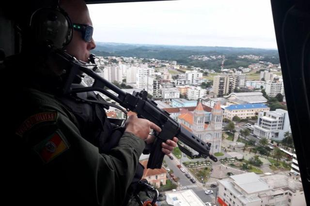 Policiamento deve ser reforçado até sábado na Serra Jackson Cardoso/Divulgação