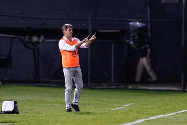 """Renato explica Grêmio com reservas na Libertadores: """"Quem muito quer, nada tem"""" Lucas Uebel/Grêmio/Divulgação"""