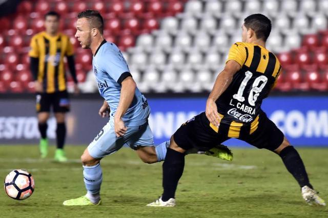 """Grêmio prioriza ganhar títulos"", diz Odorico Roman NORBERTO DUARTE/AFP"