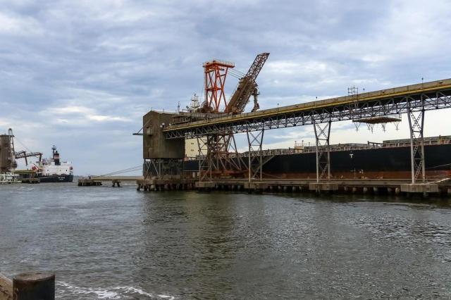 Após quatro dias, navios são liberados no porto de Rio Grande Fábio Gomes,Especial/Especial