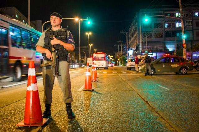 Mais de 200 pessoas são presas nas primeiras 24h da Operação Avante Tiradentes no RS Brigada Militar/Divulgação
