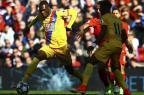Coutinho marca, mas Liverpool perde para oCrystal Palace Geoff Caddick/AFP