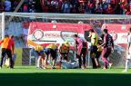 Marcelo Lomba lesiona coxa e é substituído na semifinal do Gauchão Fernando Gomes / Agência RBS/Agência RBS