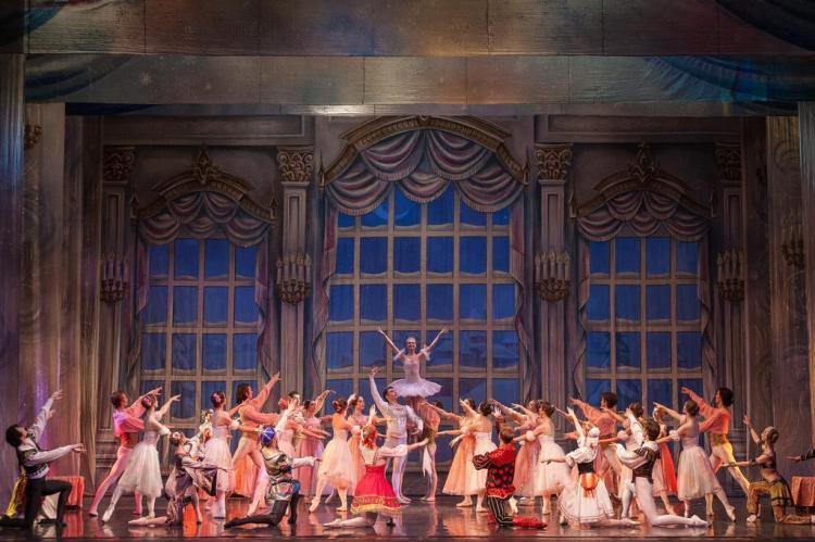 """Espetáculo """"O Quebra-Nozes"""" volta a Porto Alegre em maio Moscow State Ballet/Divulgação"""