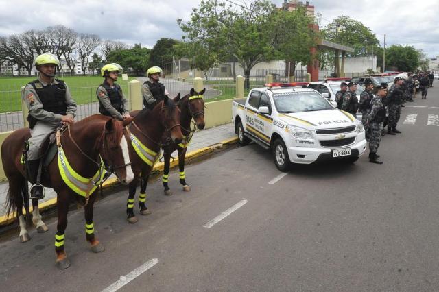 Crise obriga BM a leiloar cavalos de batalhões do Interior Jean Pimentel/Agencia RBS