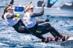 Martine Grael e Kahena Kunze lideram etapa da Copa do Mundo Jesus Renedo/Sailing Energy/World Sailing