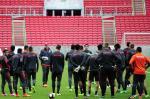 Inter fecha parte do treino desta quarta-feira