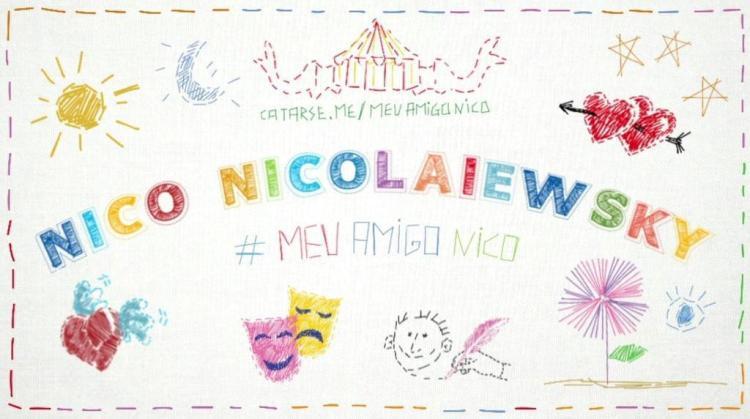 Amigos e familiares criam financiamento coletivo para homenagear Nico Nicolaiewsky Reprodução/Reprodução