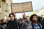 """""""Nem Le Pen, nem Macron"""": estudantes tomam ruas da França contra resultados do primeiro turno"""