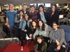 Alunos de Jornalismo da Unisinos visitam jornal /