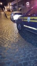 Motorista alcoolizado tenta se esconder da PRF após abordagem em Vacaria PRF/Divulgação