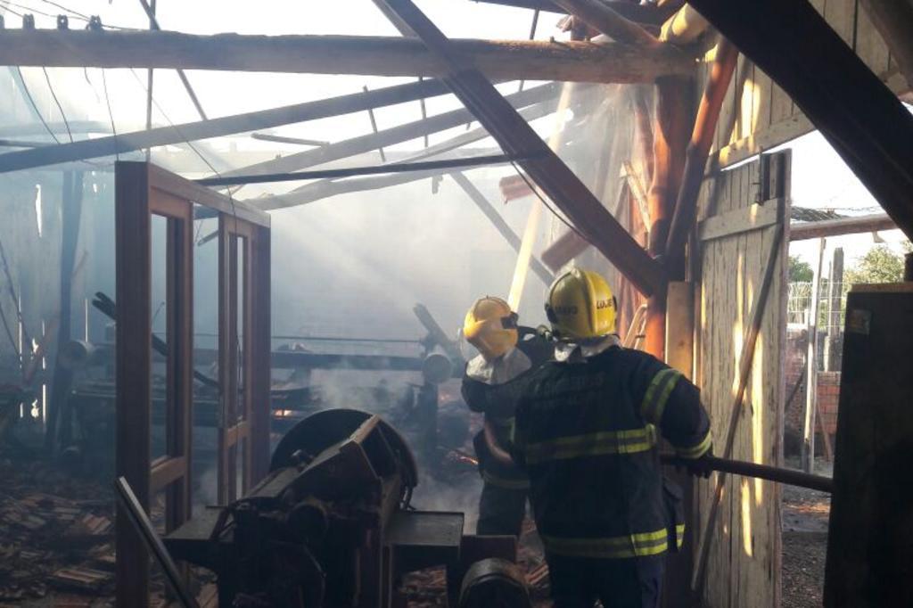 Homem morre em incêndio em Imbé, no Litoral Norte