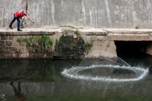 Desempregado, homem pesca no Arroio Dilúvio para ter o que comer Anderson Fetter/Agencia RBS