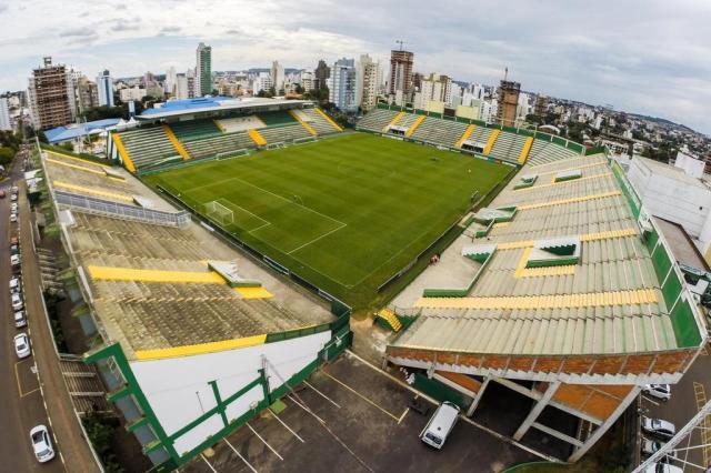 CBF adia jogo entre Chapecoense e Grêmio para a próxima quinta-feira Cristiano Estrela/Agencia RBS