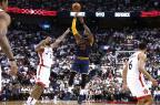 Cavs varre o Raptors e vai às finais do Leste pela terceira vez seguida Nathaniel S. Butler / NBAE/Getty Images/AFP/NBAE/Getty Images/AFP