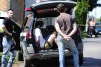 Perseguição policial a ladrões de carro termina com tiroteio em Sapucaia do Sul Ronaldo Bernardi/Agencia RBS