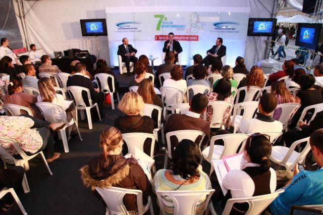 Feira de oportunidades promove diversas atividades, como dicas para entrevista de emprego João Alves/Senac,Divulgação