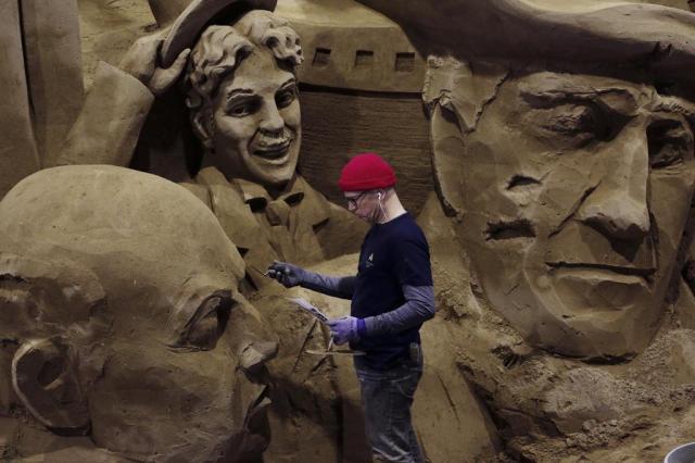Museu de areia abriga tesouros no Japão Ko Sasaki/The New York Times