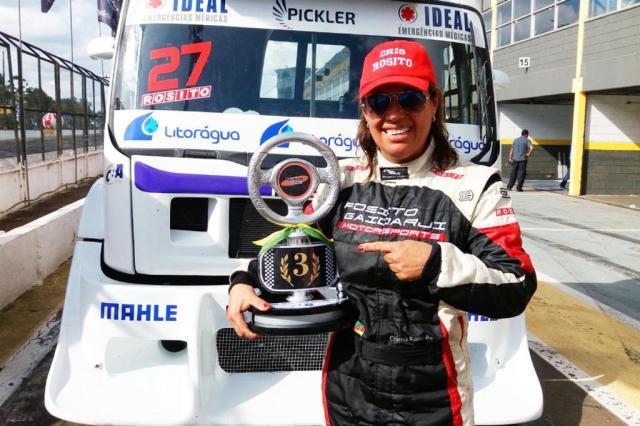 Gaúcha conquista novo pódio no Sul-Americano de Fórmula Truck Divulgação/Arquivo Pessoal