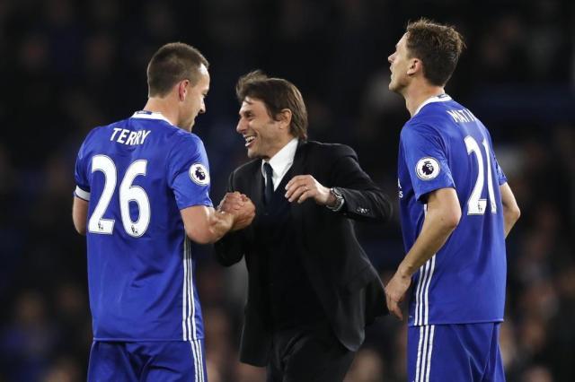 Chelsea comemora seu título com festival de gols contra o Watford Adrian DENNIS/AFP/AFP
