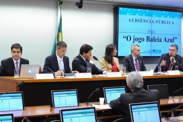 """Baleia azul é """"notícia falsa introduzida de forma alarmista"""", diz presidente da SaferNet Luis Macedo/Câmara dos Deputados/Divulgação"""