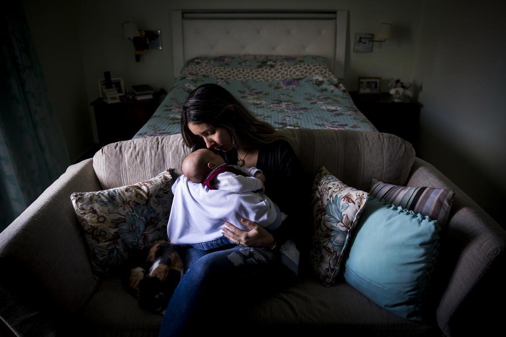 Dia das Mães: como Virgínia concilia a viuvez com a maternidade Mateus Bruxel/Agencia RBS