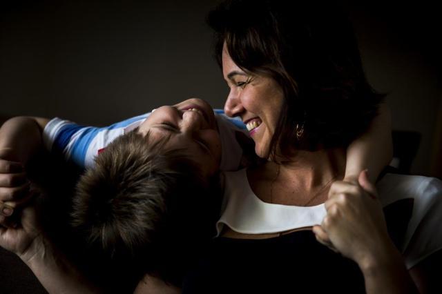 Dia das Mães: como Elusa concilia a viuvez com a maternidade Mateus Bruxel/Agencia RBS