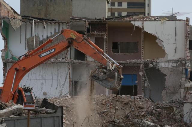 Demolição do Hotel Siri abala memória afetiva de moradores e veranistas de Tramandaí Tadeu Vilani/Agencia RBS