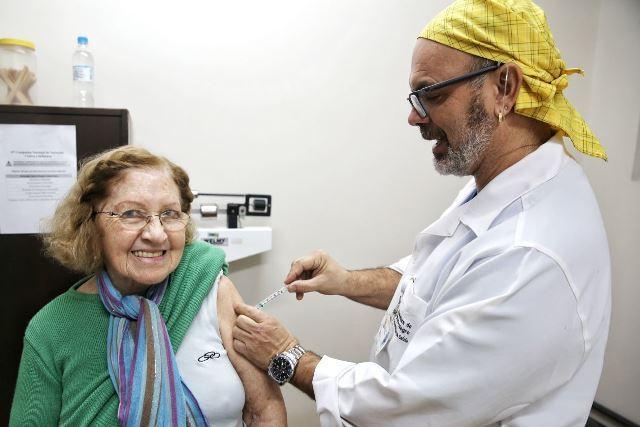 Dia D para vacinação contra a gripe registra baixa procura em postos de Porto Alegre Omar Freitas / Agência RBS/Agência RBS