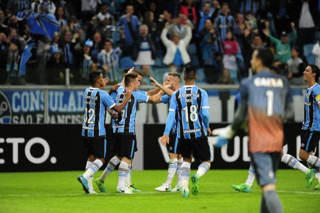 """Cacalo: """"O Grêmio renovou a esperança do seu torcedor"""" Carlos Macedo/Agencia RBS"""