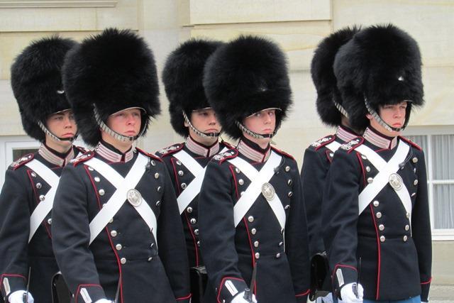Curioso de ver: a troca da Guarda no palácio da família real dinamarquesa Rosane Tremea / Arquivo pessoal/Arquivo pessoal