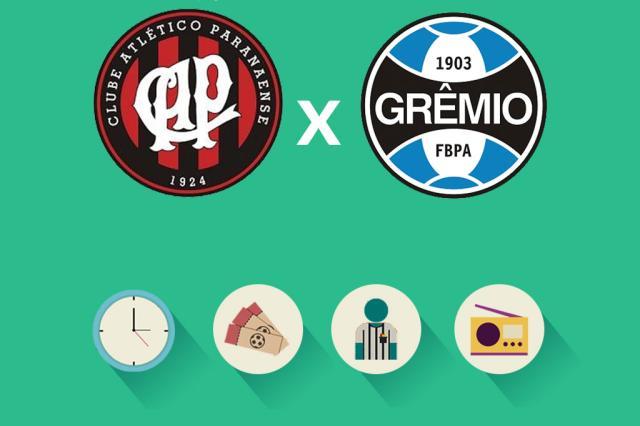Atlético-PR x Grêmio: tudo o que você precisa saber para acompanhar a partida Arte ZH/