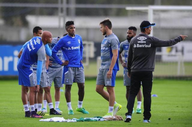 Sem titulares, Grêmio inicia preparação para enfrentar o Fluminense André Ávila/Agencia RBS