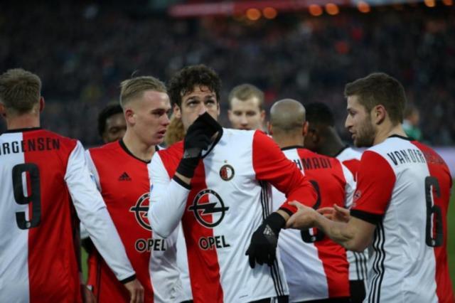 Brasileiro é eleito o segundo melhor jogador do Campeonato Holandês Feyenoord/Divulgação