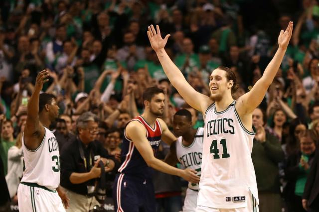Celtics derruba o Wizards e vai às finais do Leste na NBA Elsa / Getty Images/AFP/Getty Images/AFP
