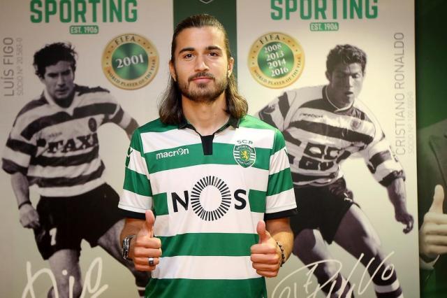 Filho de Bebeto assina contrato com o Sporting até 2022 sporting,divulgação/sporting,divulgação
