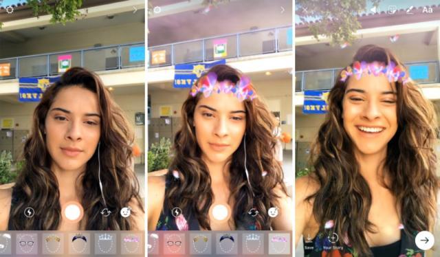 Câmera com máscaras e outras novidades do Instagram Stories Instagram Blog / Reprodução/Reprodução