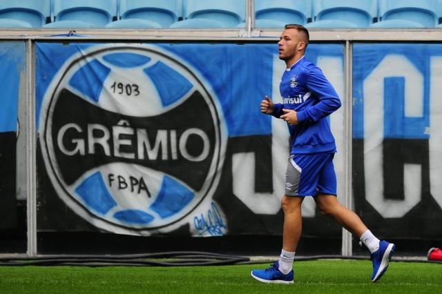 Com atenção a Arthur, Grêmio encerra preparação para enfrentar o Fluminense Lauro Alves/Agencia RBS