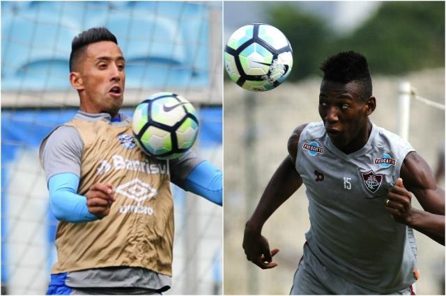 Grêmio x Fluminense: veja quem leva a melhor nos duelos por posição Montagem sobre fotos BD ZH /