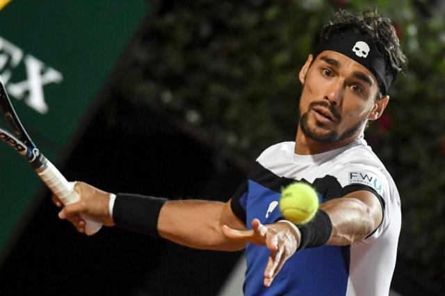Em casa, Fognini derrota Murray pelo Masters 1000 de Roma ANDREAS SOLARO/AFP