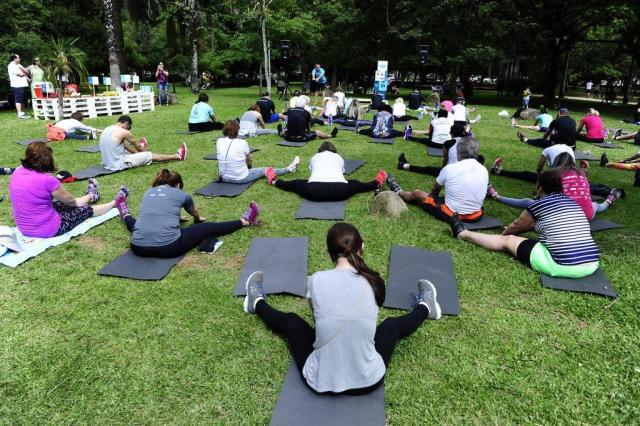 Pesquisa diz que 76% da população com 15 anos ou maisnão pratica esporte no Brasil Ronaldo Bernardi/Agencia RBS