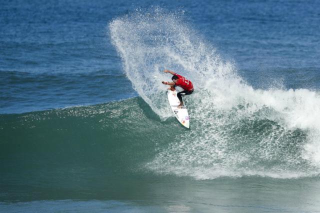 Mineirinho supera Yago Dora e está na final da etapa do Rio do Circuito Mundial de Surfe WSL  / Divulgação/Divulgação
