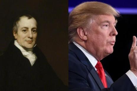 Trump contraria teoria de 2 séculos ao ignorar vantagens comparativas (Montagem sobre fotos de Gallery London e AFP/Agência RBS)