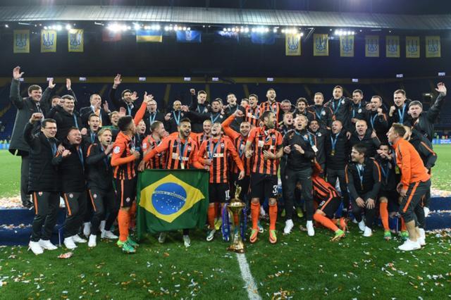 Com gol brasileiro, Shakhtar vence o Dínamo e fatura a Copa da Ucrânia Divulgação / Shakhtar /Shakhtar