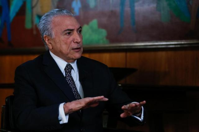 OAB leva pedido de impeachment de Temer à Câmara na quinta-feira Marcos Corrêa/Presidência da República/Divulgação