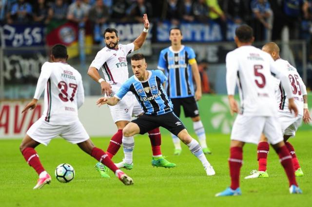 """Abel lamenta """"placar exagerado"""" na vitória do Grêmio sobre o Fluminense Lauro Alves/Agencia RBS"""