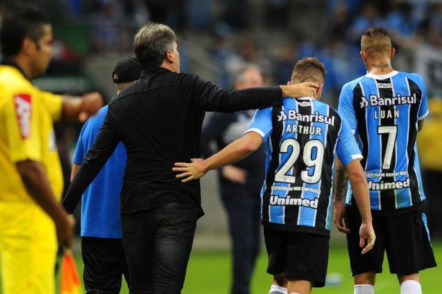"""Renato exalta nível das atuações do Grêmio: """"Estamos jogando bonito"""" Lauro Alves/Agencia RBS"""