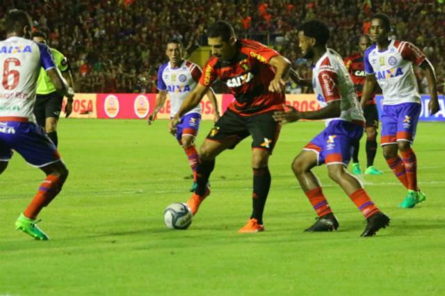 Sport e Bahia empatam no primeiro jogo da final da Copa do Nordeste Williams Aguiar / Sport/Divulgação/Sport/Divulgação