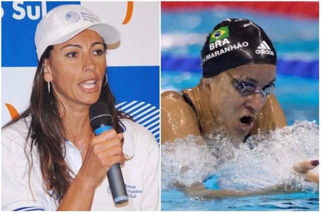 Ana Paula e Joanna Maranhão trocam farpas no Twitter em discussão sobre política Montagem / Divulgação/Divulgação